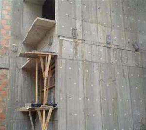 外墙保温模板工程案例